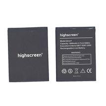 Оригинальная аккумуляторная батарея для смартфона Highscreen Zera F 3.7V Black 1600mAh 5.55Wh