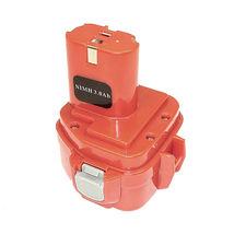 Аккумулятор для шуруповерта Makita 1220, 1233 3.0Ah Ni-Mh 12V красный