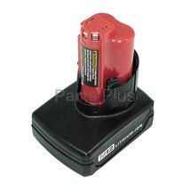 Аккумулятор для шуруповерта Milwaukee 48-11-2401, 48-11-2402, C12 B, C12 BX 4.0Ah Li-Ion 12V черный