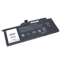 Аккумуляторная батарея для ноутбука Dell F7HVR-4S1P 14.8V Black 3900mAh OEM