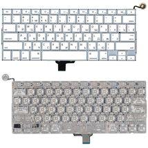 Клавиатура Apple A1342 2009/2010 White, (No Frame) (плоский Enter) RU