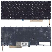 Клавиатура MSI (GS32, GS30, GS43, GS40) Black с подсветкой (Light), RU