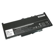 Аккумуляторная батарея для ноутбука Dell J60J5 Latitude 12 E7270 7.6V Black 6800mAh OEM