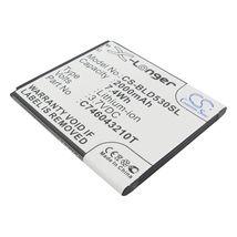 Аккумуляторная батарея для Explay CS-BLD530SL Fresh 3.7V White 2000mAh 7.4Wh