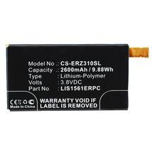 Аккумуляторная батарея для Sony CS-ERZ310SL Xperia Z3 Compact D5803 LTE 3.8V Black 2600mAh 9.88Wh