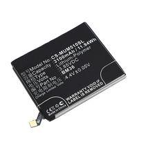 Аккумуляторная батарея для Xiaomi CS-MUM510SL Mi 5s 3.85V Black 3100mAh 11.94Wh