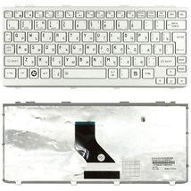 Клавиатура Toshiba Mini (NB200, NB300, NB305) Silver, (Silver Frame) RU (вертикальный энтер)