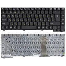 Клавиатура для ноутбука Fujitsu Amilo (D1840, D1845, A1630) Black, RU (вертикальный энтер)