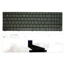 Клавиатура для ноутбука Asus (X53S, X53U) Black, (Black Frame), RU