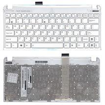 Клавиатура Asus EEE PC (1015) White, (White Frame) RU