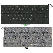 Клавиатура для ноутбука для ноутбука Apple MacBook Air A1304, A1237 Black, (No Frame), RU (вертикальный энтер)