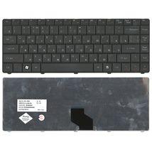 Клавиатура для ноутбука Acer eMachines (D725) Black, короткий шлейф (Short Trail), RU