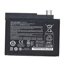 Оригинальная аккумуляторная батарея для планшета Acer AP13G3N Iconia Tab W3-810 3.7V Black 6800mAhr 25Wh