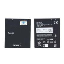 Оригинальная аккумуляторная батарея для смартфона Sony BA900 Xperia J ST26i 3.7V Black 1700mAh 6.3Wh