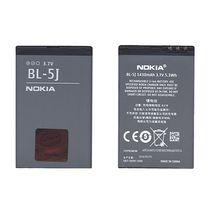 Оригинальная аккумуляторная батарея для смартфона Nokia BL-5J 5800 XpressMusic, С3, X1, X6 3.7V Black 1430mAh 5.3Wh