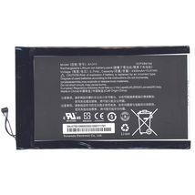 Оригинальная аккумуляторная батарея для планшета Acer A1311 3.7V Black 4300mAh 15.91Wh