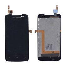 Матрица с тачскрином (модуль) для Lenovo IdeaPhone A390 черный