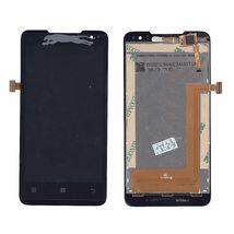 Матрица с тачскрином (модуль) для Lenovo IdeaPhone P770 черный
