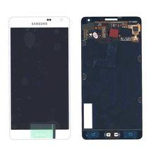 Матрица с тачскрином (модуль) для Samsung Galaxy A7 SM-A700F белый