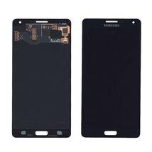 Матрица с тачскрином (модуль) для Samsung Galaxy A7 SM-A700F черный