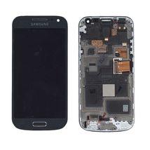 Матрица с тачскрином (модуль) для Samsung Galaxy S4 mini GT-I9190 черный с рамкой