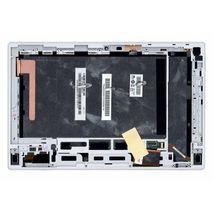 Матрица с тачскрином (модуль) для Sony Xperia Tablet Z SGP311 черный с белой рамкой