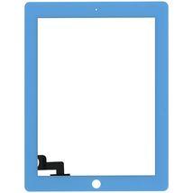 Тачскрин (Сенсорное стекло) для планшета Apple iPad 2 A1395, A1396, A1397 голубой