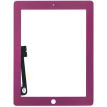 Тачскрин (Сенсорное стекло) для планшета Apple iPad 3 A1416, A1430, A1403, A1458, A1459, A1460 фиолетовый