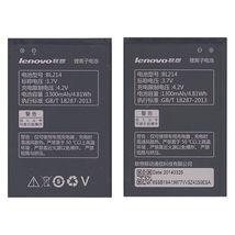 Оригинальная аккумуляторная батарея для смартфона Lenovo BL214 A208T/A218T/A269/A300T/A305E/A316 3.7V Black 1300mAhr 4.81Wh