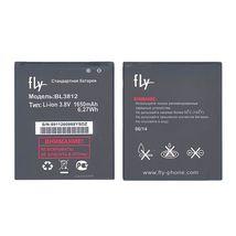 Оригинальная аккумуляторная батарея для смартфона Fly BL3812 IQ4416/Era Life 5 3.8V White 1650mAhr 6.27Wh