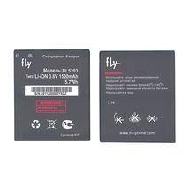 Оригинальная аккумуляторная батарея для смартфона Fly BL5203 IQ442 Quad Miracle 2 3.8V Black 1500mAhr 5.7Wh