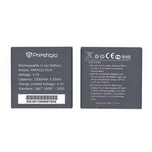 Аккумуляторная батарея для смартфона Prestigio PAP4322 4322 Multiphone 3.7V Black 1500mAh 5.55Wh