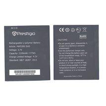 Аккумуляторная батарея для смартфона Prestigio PAP5300 5300 Multiphone 3.7V Black 2100mAh 7.77Wh