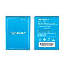 Оригинальная аккумуляторная батарея для смартфона Highscreen Pure F Boost 2 3.7V Black 6000mAhr 22.2Wh