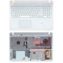 Клавиатура Sony FIT 15 (SVF15) White, с топ панелью (White), RU