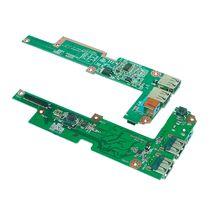 Разъем питания для ноутбука Acer Aspire 3410, 3810 с VGA платой и кабелем. Hа плате смонтированы разъём питания и разъём VGA