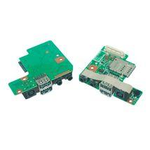 Плата питания Dell Latitude E5400 на плате с USB и Audio разъемами